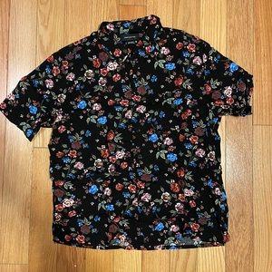 Urban Outfitters flower shirt